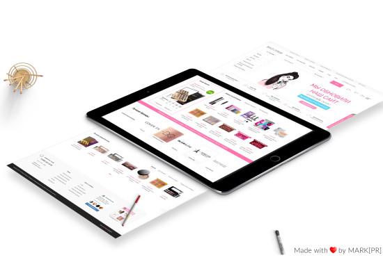 Создание нового сайта для Beauty Storage